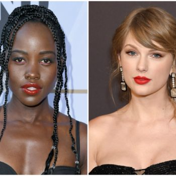 Lupita Nyong'o says this Taylor Swift song helped her through hard times, and we stan