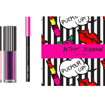 Betsey Johnson just launched a makeup line, and we're doing cartwheels to celebrate