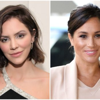 Katharine McPhee shared the best throwback photo with a teen Meghan Markle