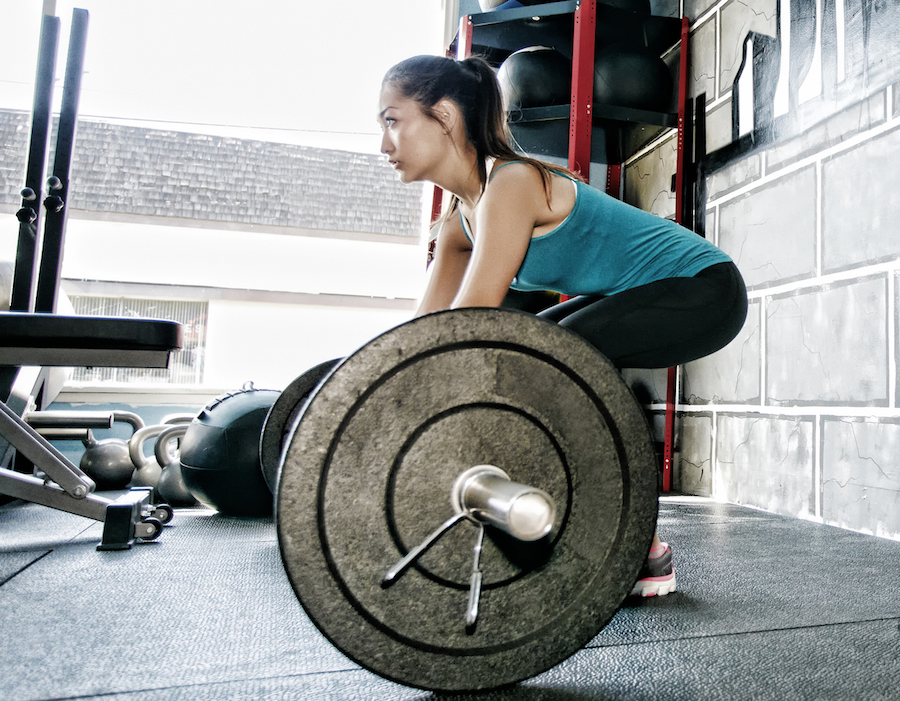 Lifting weights helped me understand that women can take up space