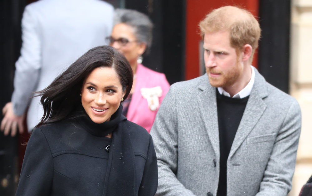 A boy dropped the F-bomb in front of Meghan Markle and Prince Harry, and their reactions were gold