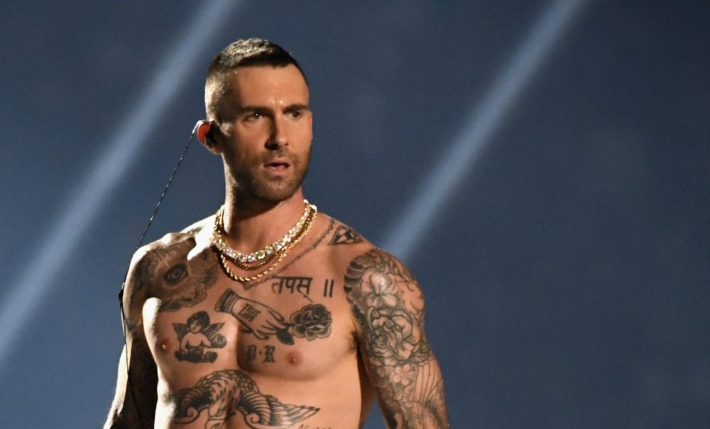 Can we all take a minute to talk about Adam Levine's nipples at the Super Bowl halftime show?