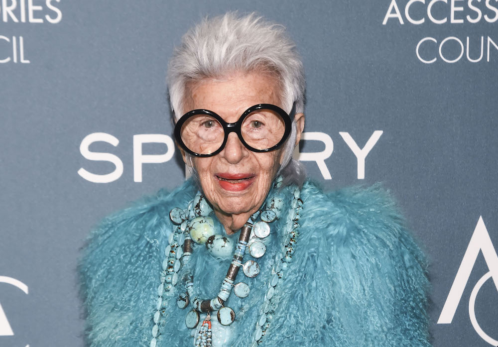 Iris Apfel, 97-year-old style icon, is now officially signed to IMG Models