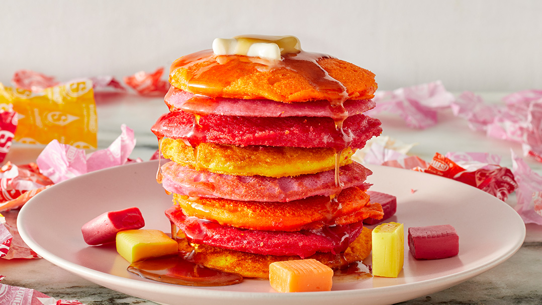 This Starburst pancake recipe makes candy for breakfast socially acceptable