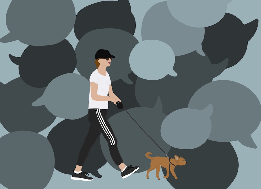 Walking my dog exposed me to a kind of catcalling I never expected