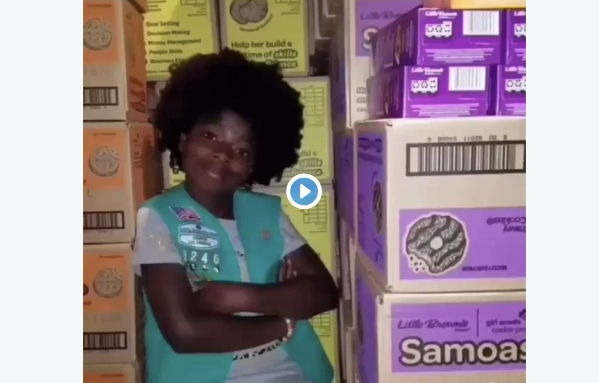 This Girl Scout rewrote a Cardi B song to sell cookies, and someone give her a record deal STAT