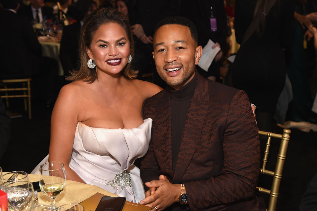 Chrissy Teigen lied about sex on her first date with John Legend, and tbh, we relate