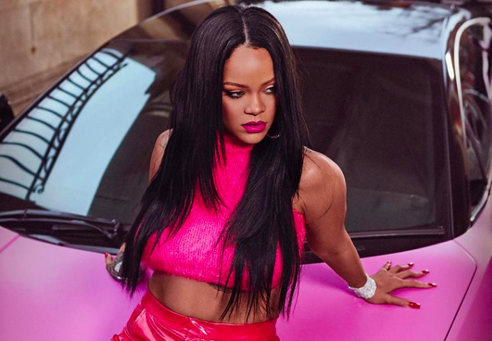 A new Fenty Beauty Stunna Lip Paint shade is coming, and it's electric pink