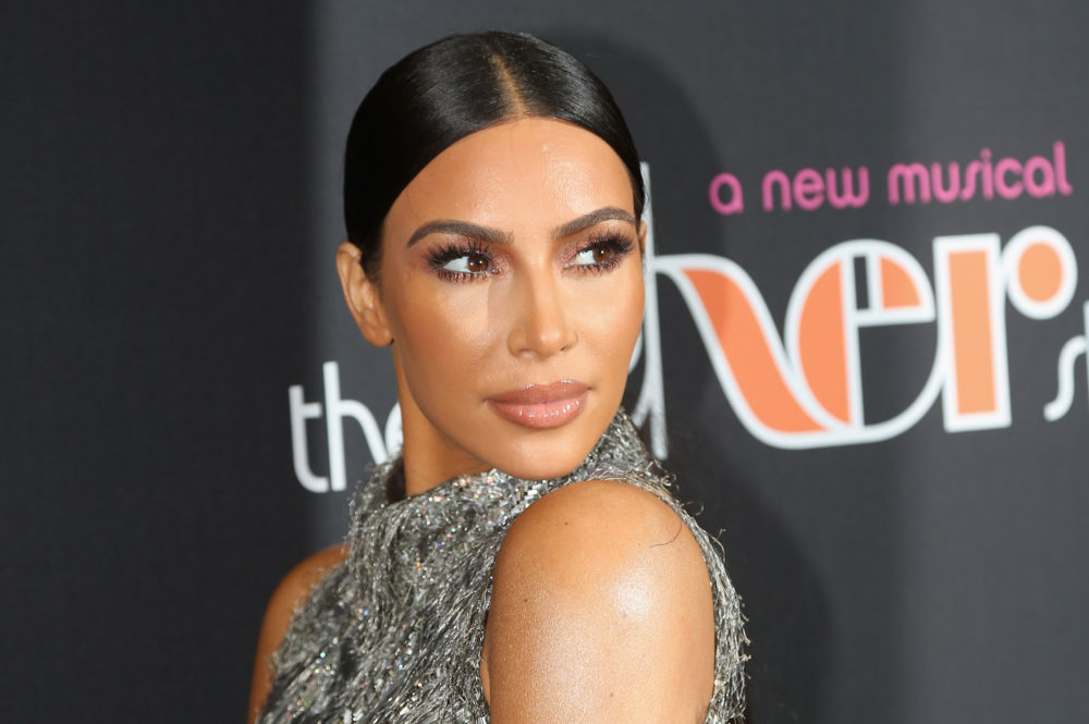 Kim Kardashian came close to a nipple-related wardrobe malfunction, but #worthit because this dress is FIRE