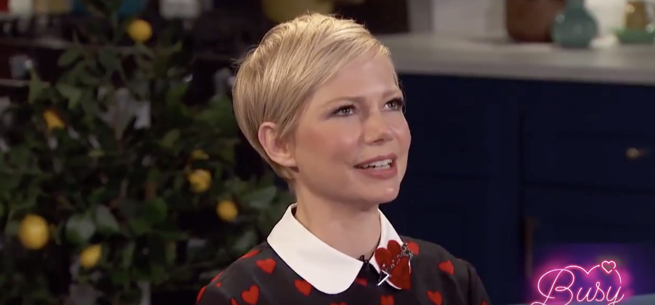 Michelle Williams once got locked out of a hotel room in only her underwear—handled it like a champ