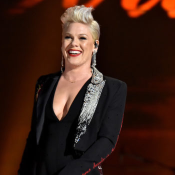 Pink lost her 20th Grammy award, so her kids made her one out of foil