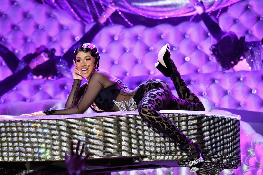 "Cardi B heard Kulture say ""mama"" for the first time, and it was her biggest Grammy night win of all"