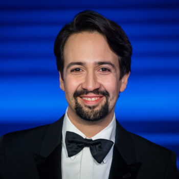 Lin-Manuel Miranda is guest-starring on <em>Brooklyn Nine-Nine</em>, and here's your first look at his character