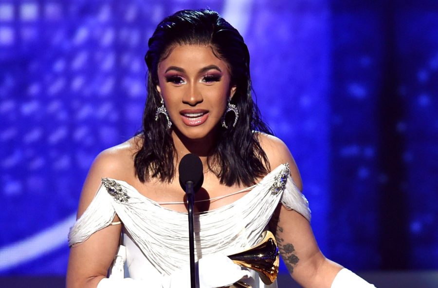 Female hip-hop legends are celebrating Cardi B's historic Grammys win, and this is #womensupportingwomen at its finest