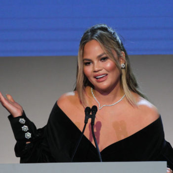 Chrissy Teigen posted a #tbt photo, and she is literally Selena Gomez's doppelganger
