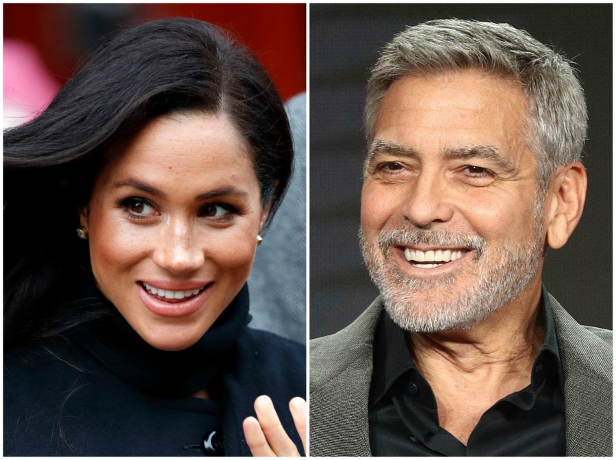 George Clooney compared media treatment of Meghan Markle to that of Princess Diana, and he isn't wrong