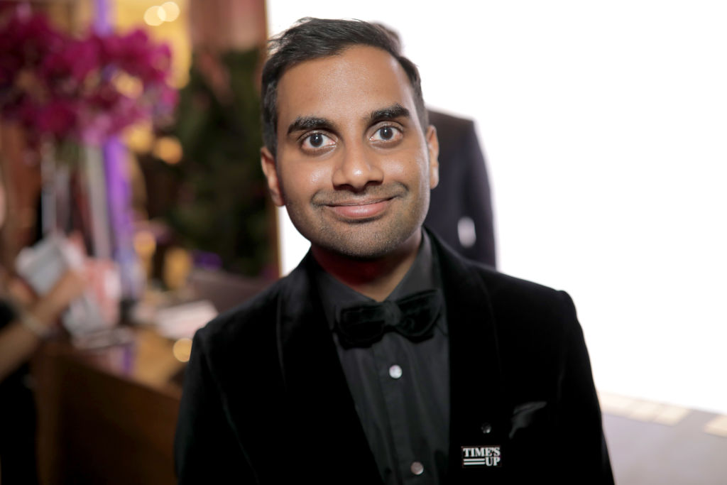"Aziz Ansari said the sexual misconduct allegations against him gave him ""perspective"""