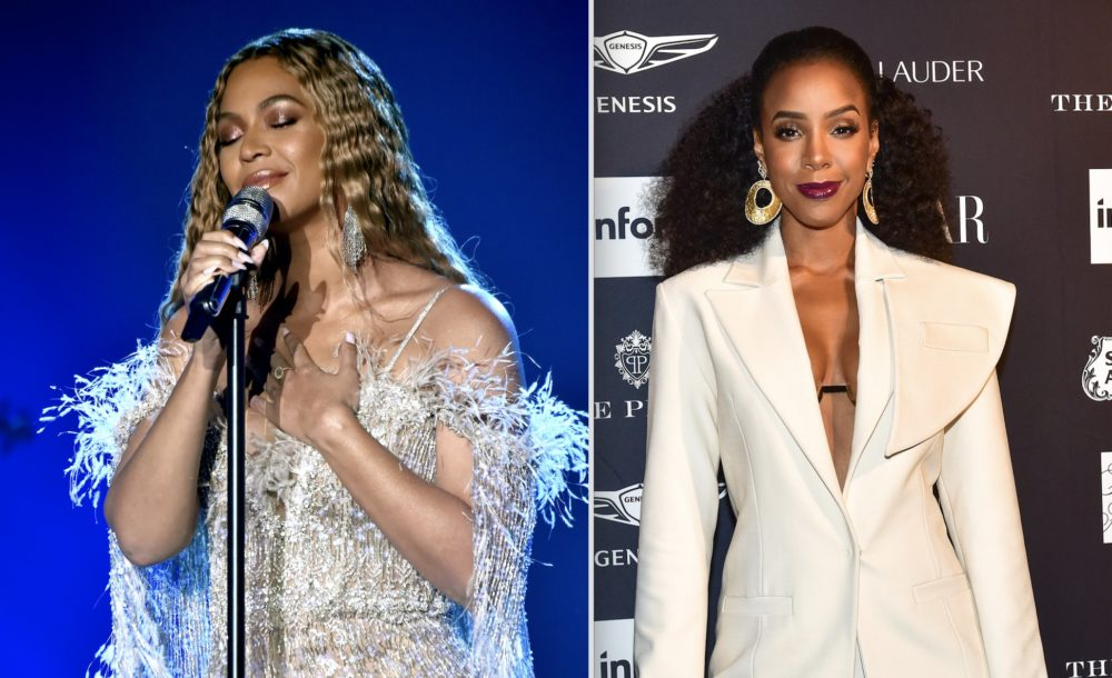 Beyoncé celebrated Kelly Rowland's birthday by posting these epic throwback photos