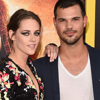 Kristen Stewart surprised Taylor Lautner for his birthday, because #TeamJacob forever