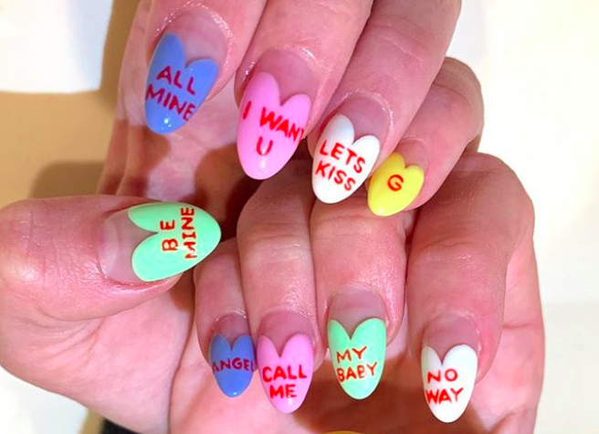 Valentine's Day nail designs that will have you head over heels in love with your hands