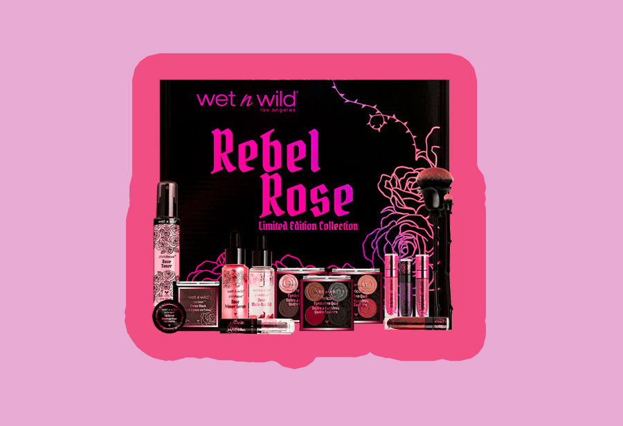 Wet n Wild's Rebel Rose collection is goth-meets-<em>Beauty and the Beast</em>