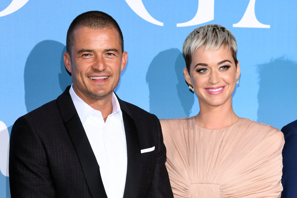 Katy Perry and Orlando Bloom are engaged, and the ring is SO Katy Perry