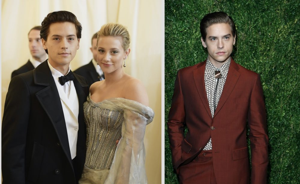 Cole Sprouse posted a romantic message to Lili Reinhart for V-Day, and Dylan Sprouse roasted him like only a sibling can