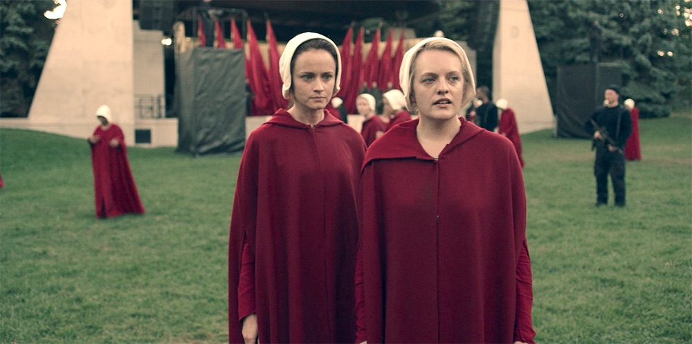 <em>The Handmaid's Tale</em> is filming in Washington D.C., and the photos are haunting