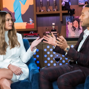 Chrissy Teigen spent her Sunday feuding with John Legend about pizza rolls on Twitter, as you do
