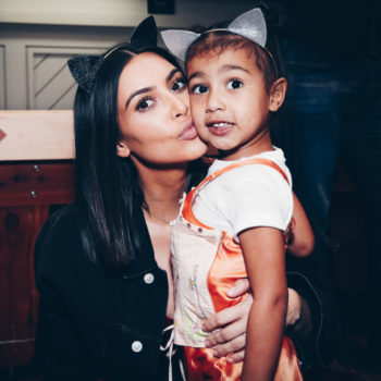 North West is Kim Kardashian's mini-me, and this adorable photo is proof