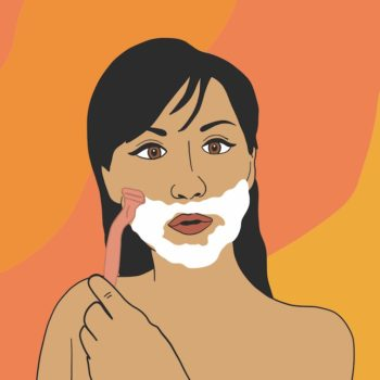 This is why shaving my face has been the best thing I've done for my skin