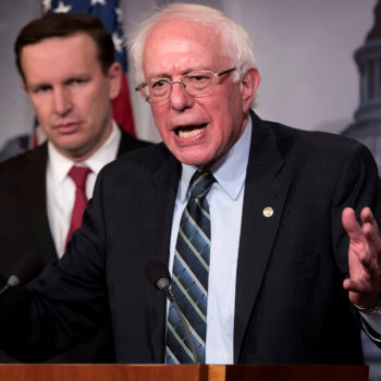 """Bernie Sanders is officially running for president again—Trump is """"an embarrassment to our country"""""""
