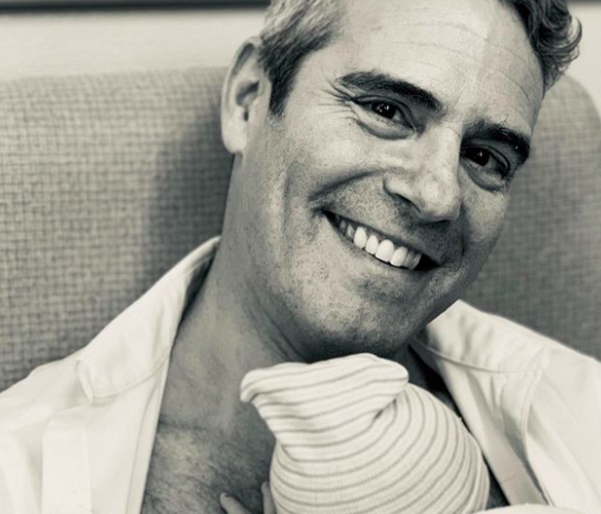 Andy Cohen was dad-shamed for this photo of his newborn in a crib, and enough already