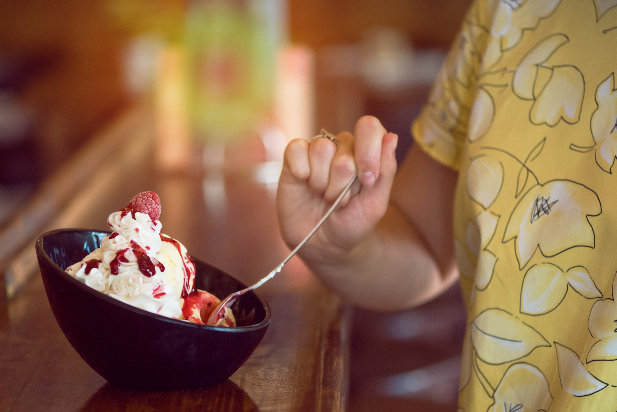 This ice cream is supposed to help you sleep better, so grab a spoon