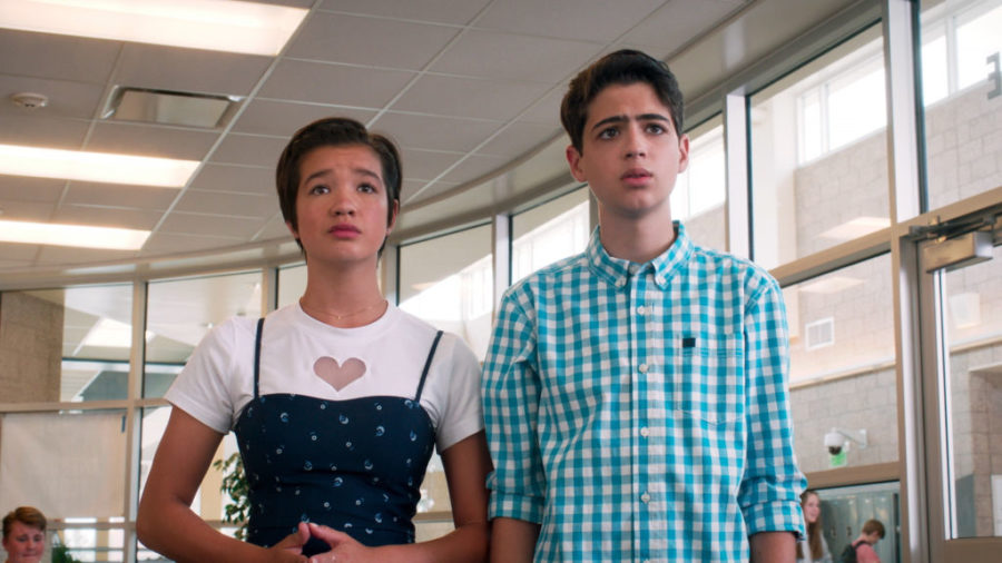 This <em>Andi Mack</em> star shut down a homophobic troll with the most eloquent tweet