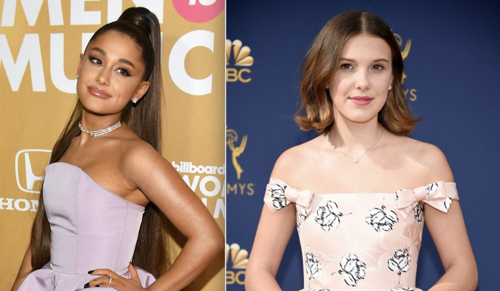 Ariana Grande's birthday post to Millie Bobby Brown should be your new daily mantra