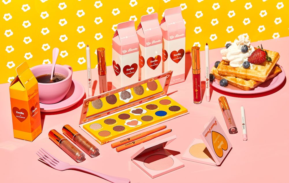 ColourPop's latest collab is a tribute to all things brunch, and now we want a mimosa