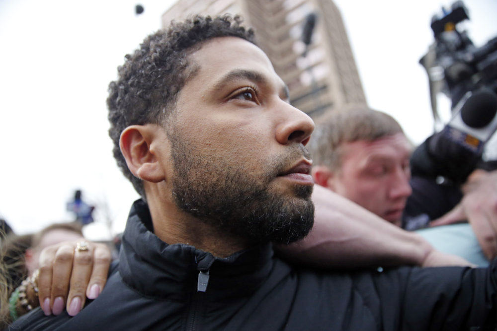 It's unclear what's going on in the Jussie Smollett case, but let's not forget that hate crimes are on the rise