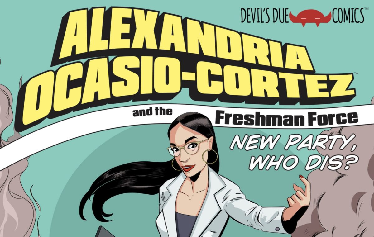 Alexandria Ocasio-Cortez is so badass there's literally now a comic book about her