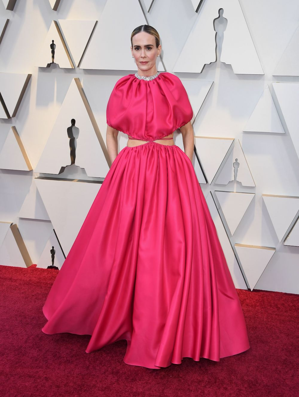 Oscars Red Carpet Fashion Trend Is Hot Pink Gowns - HelloGiggles