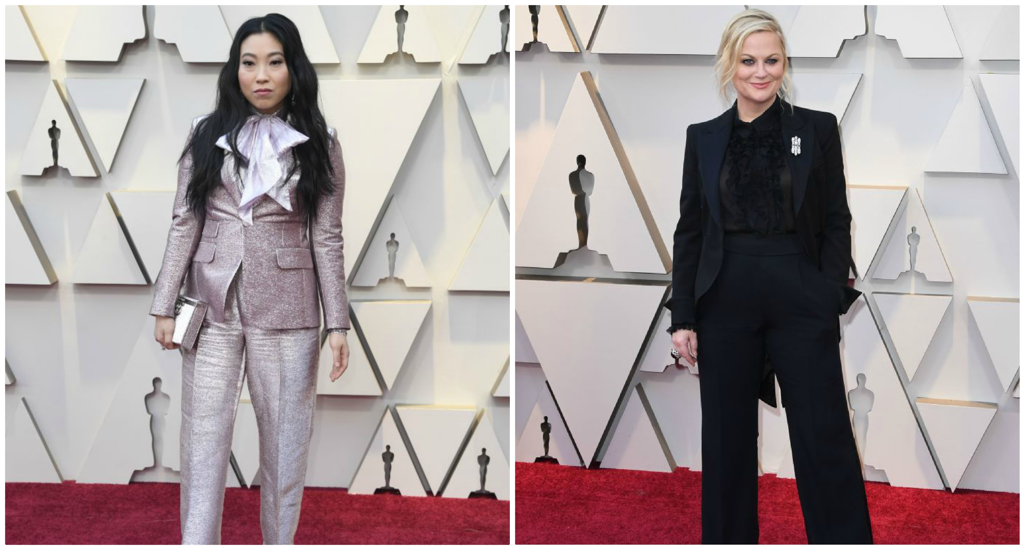 Hillary Clinton would be so proud of all the pantsuits on the Oscars red carpet