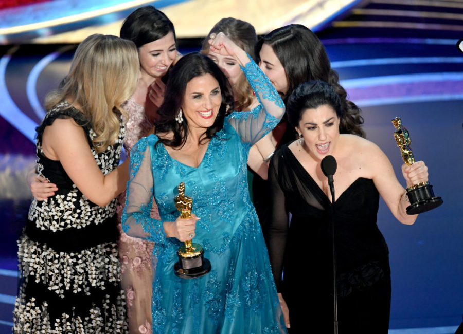 A documentary about periods won a 2019 Oscar—and the filmmakers made the best acceptance speech