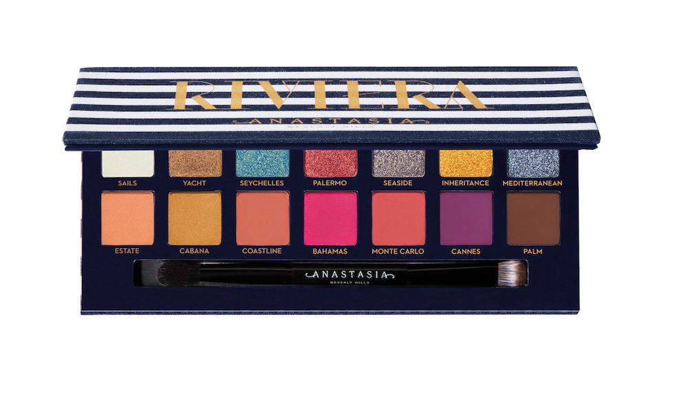 Anastasia Beverly Hills is launching a new vacation-themed eyeshadow palette to cure our winter blues