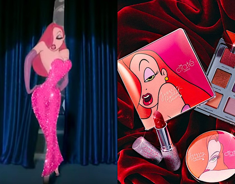 Ciaté London's Jessica Rabbit makeup collection will take you to Toontown, honey bunny
