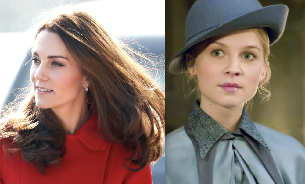 Kate Middleton channeled Fleur Delacour from <em>Harry Potter</em> in her latest look