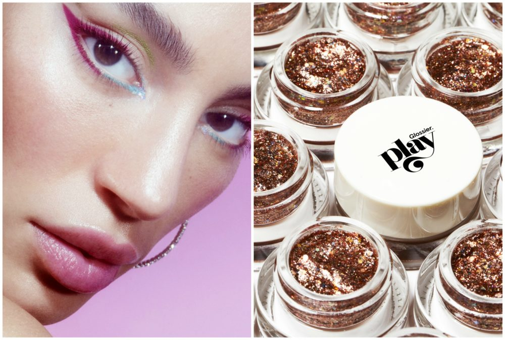 Glossier just dropped its new color makeup brand, Glossier Play, and it includes a clickable lipstick