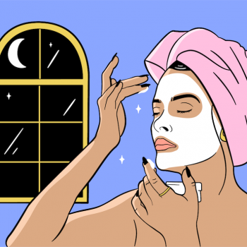 A dermatologist tells us the best nighttime beauty products to use, according to skin type