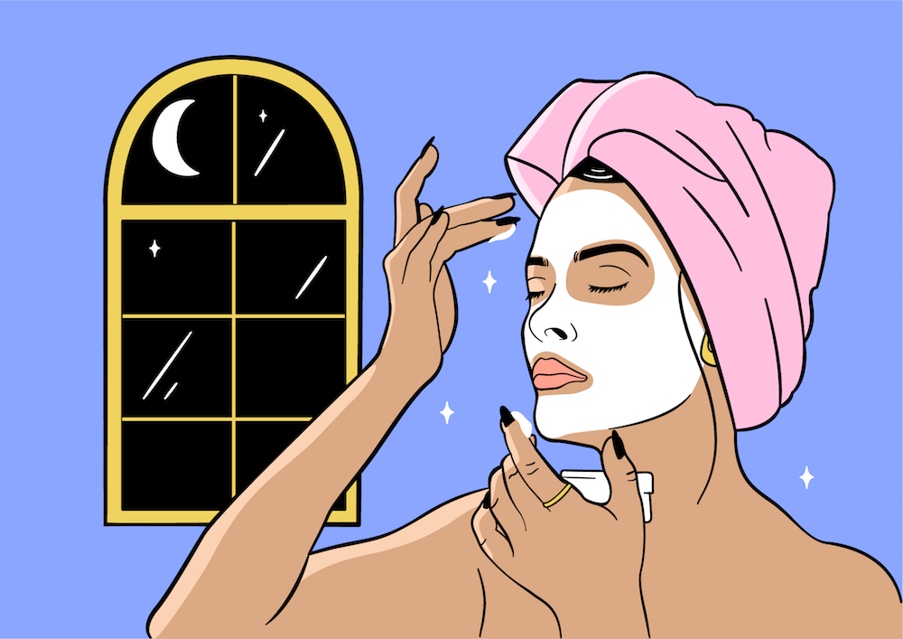 A derm tells us the best nighttime beauty products to use, according to skin type
