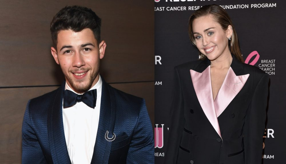 Nick Jonas dishing out compliments to ex-girlfriend Miley Cyrus is officially #breakupgoals