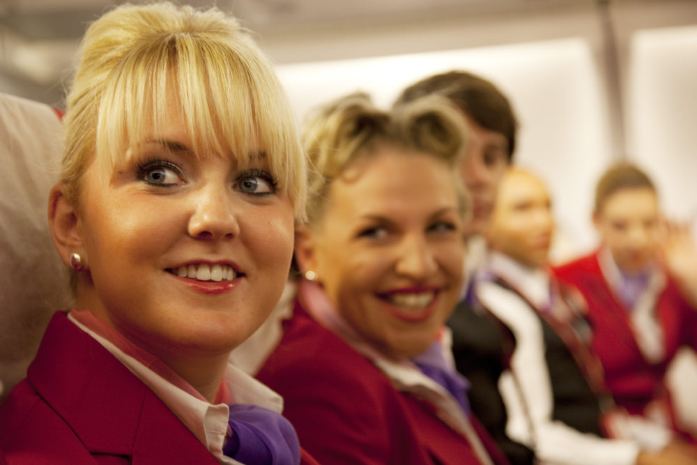 "Virgin Atlantic just ended ""mandatory makeup"" for female flight attendants, and thank god"